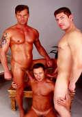 Threesome Gay Cock Munching