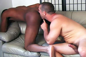 Hot gay Interracial Movie