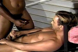 Interracial Gay Cum Glazing