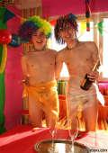Gay party boys