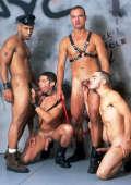 Interracial Gay Group Bang
