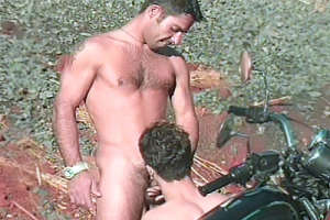 Gay Bikers Fucking Outdoors