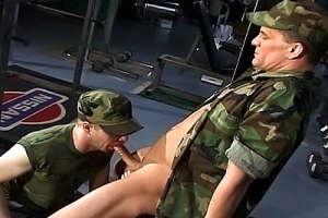 Military Gay Fucking