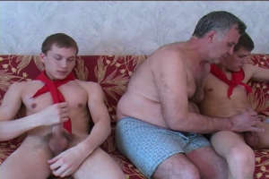 Lusty Old Gay Likes Twinks