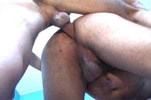 Awesome deep anal penetration for gay boy