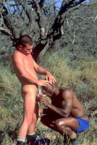Gay boys sucking outdoors